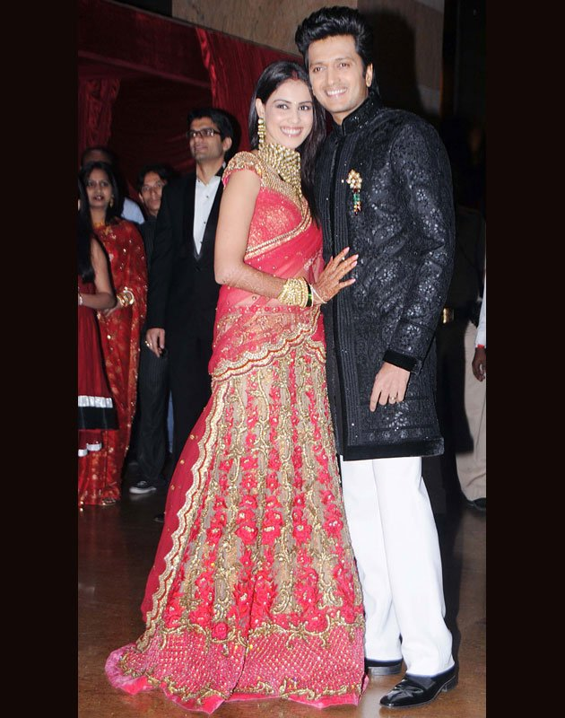 Celebs At Riteish And Genelia Wedding Reception Us Live Post